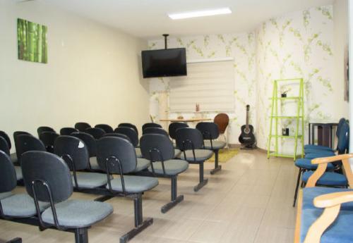 Sala de palestras e treinamentos
